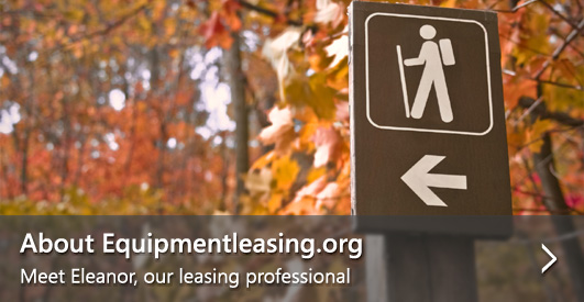 About EquipmentLeasing.org - Meet Eleanor, our leasing professional