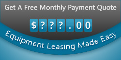 Get a free monthly payment quote — equipment leasing made easy.