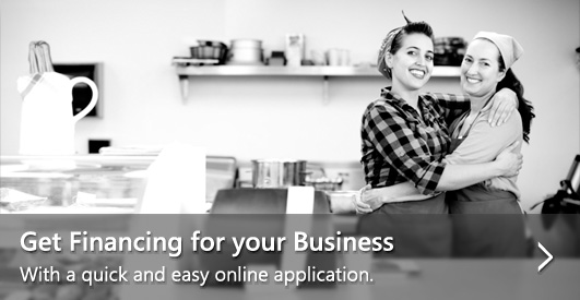 Get financing for your business with a quick and easy online applicaiton.