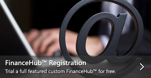 FinanceHub™ Registration—Trial a full featured custom FinanceHub™ for free.